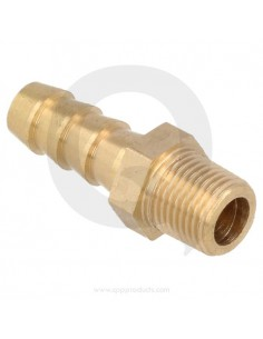 Hose pillar brass straight...
