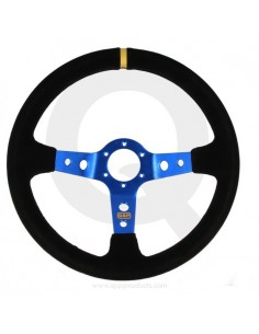 Steering wheel suede dish...
