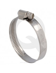 SS hose clamp 70 - 90 mm