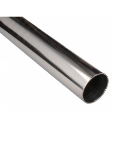 Aluminum tube straight 0,5...