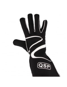 QSP Race gloves 400 (black)