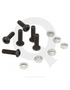 Set of steering wheel bolts