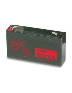Battery service timer