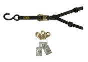 Spare wheel strap