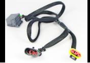 Y-kabel met connectoren