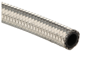 RVS braided rubber hose