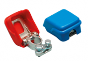 Battery pole clamp set